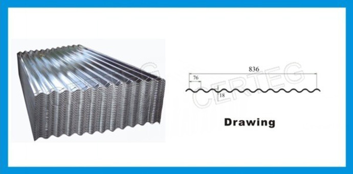 Building Materials Wholesale Corrugated Roof Sheet Galvanized Steel In Coils