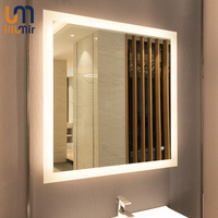 EU Standard Factory Wholesale Bathroom Mirror LED Lighted Demister Mirror Wall