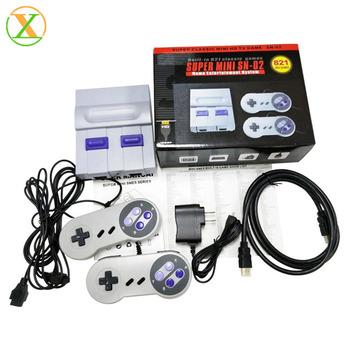 2019 Hot sale Retro Mini console 620/500 Games Video Game console Built in 821 8 bit games AV Cable Classical console