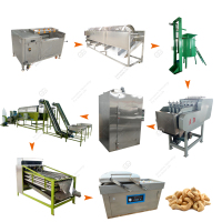 Full Automatic Automated Cashew Nut Cashew Processing Machine