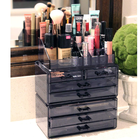 Amazon Hot Selling Acrylic Makeup Organizer Cosmetics Storage Box Acrylic