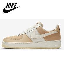 Nike AIR FORCE 1 AF1 оригинальная Мужская обувь для скейтборда, уличная мода, классическая спортивная обувь, дышащая 315122-111()