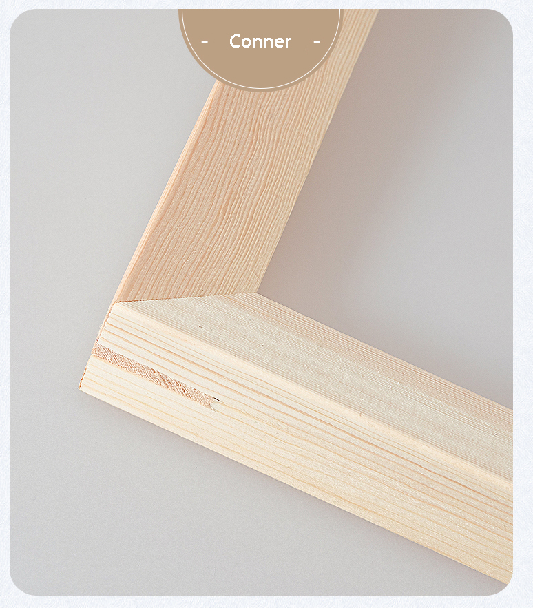 1.5 pollice profondo cornici FAI DA TE in legno telaio per dipinti