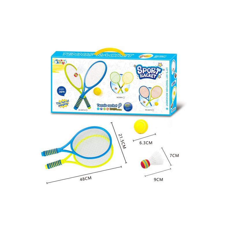 plastic Tennis Trainer Tennis racket training device for children  tennis Trainer racket set