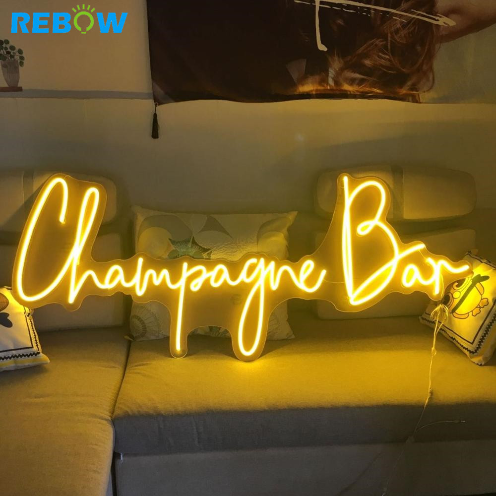 Drop Shipping Wall-mounted Hanging OEM Custom Neon Sign Letters Led Neon Sign Light led christmas neon sign