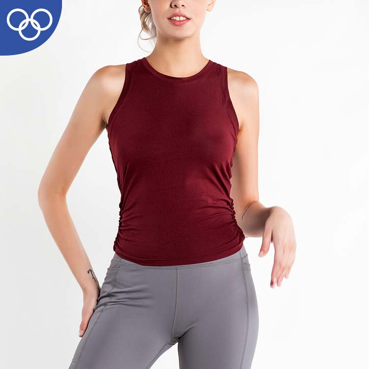 OEM Manufacturer Wholesale Organic Plain <strong>Women</strong> Stringer Singlet Cotton Gym <strong>Tank</strong> <strong>Top</strong>