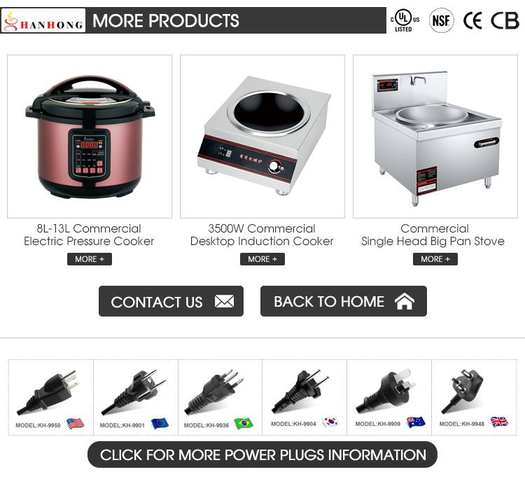 UL FCC Certificate 17L 21L 25L 33L 45L 55L 65 Lite Commercial Stainless Steel Cooker Pressure Cookware Electric Pressure Cooker