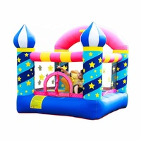 New Cheap Wholesale Kids Small Indoor Air Jumping Combo Moon Inflatable Bounce House for Sale China