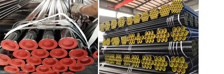 API 5L углеродистая бесшовная стальная труба, используемая для нефтяных и буровых труб