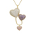 YMnecklace-01105 xuping fashion women wholesale heart shaped pendant long necklace