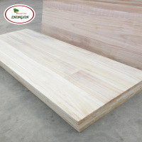 Paulownia Wedge Joint Wood Board In China