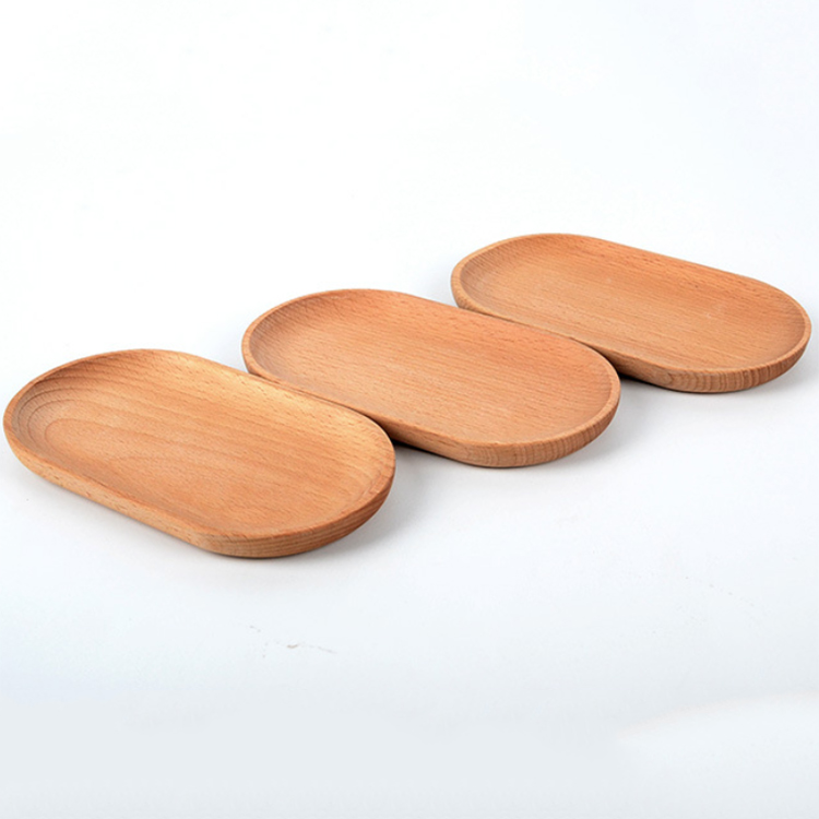Japanese wooden oval tray mini <strong>plate</strong>