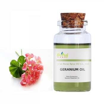 100% pure natural geranium extracted geranium essential oil