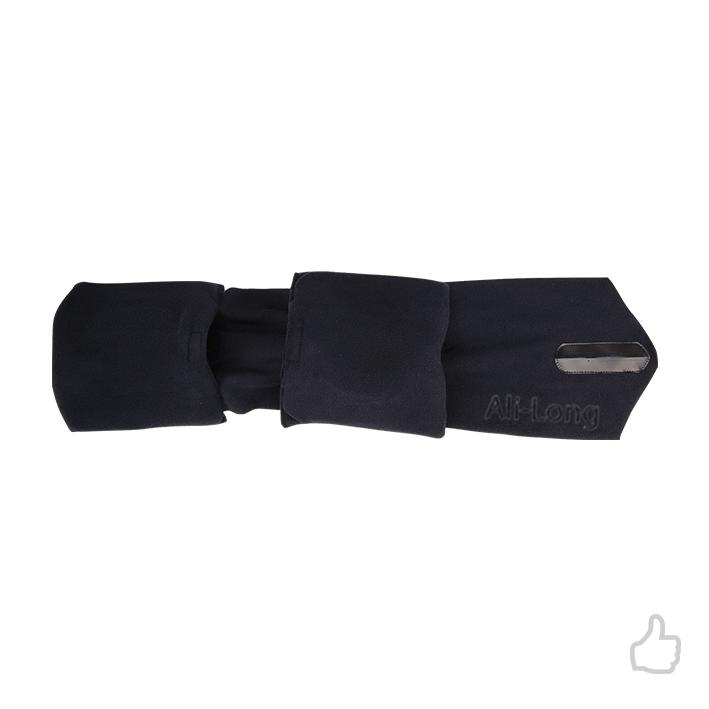 FBA APROVADO Principal Fabricante Memorok Vôo Longo Lenço No Pescoço Travesseiro Cochilo & Lenço de Pescoço de Espuma de Memória Travesseiro De Viagem Ajustável
