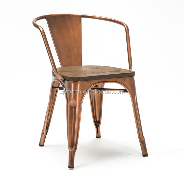 product-Sample design wood seat metal frame chair-Uptop Furnishings-img-7