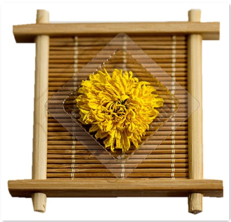Health Benefits Yellow Chrysanthemum Organic Green Tea - 4uTea | 4uTea.com