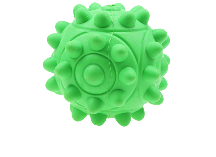 Ball toy pet chewing rubber dog toy durable indestructible dog teeth cleaning pet toy interactive ball