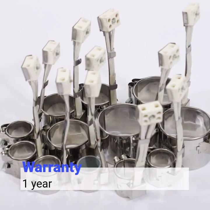 220v स्टेनलेस स्टील औद्योगिक बिजली बैरल मीका बैंड प्लास्टिक extruder हीटर