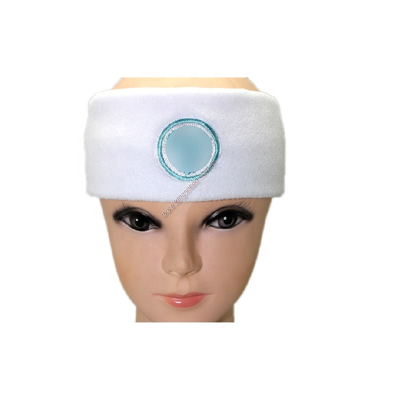 Hot sell OEM ODM Hair bands woman spa absorbent sweatbands headbands elastic for bath and make up SPA