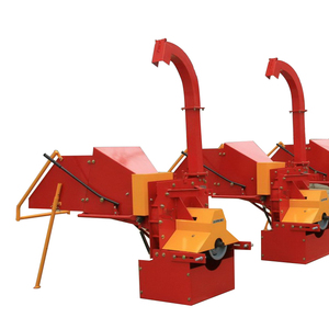 CE approved three point tree stump manual shredder wood chipper