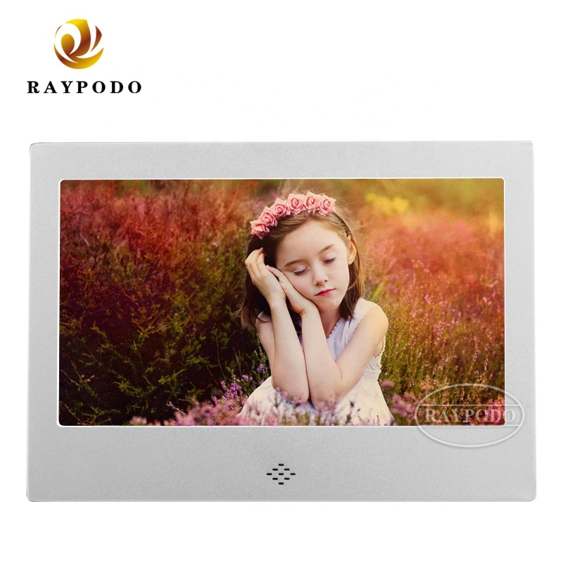 Raypodo 7 inch digital <strong>video</strong> frame with wall mount function For Christmas gift