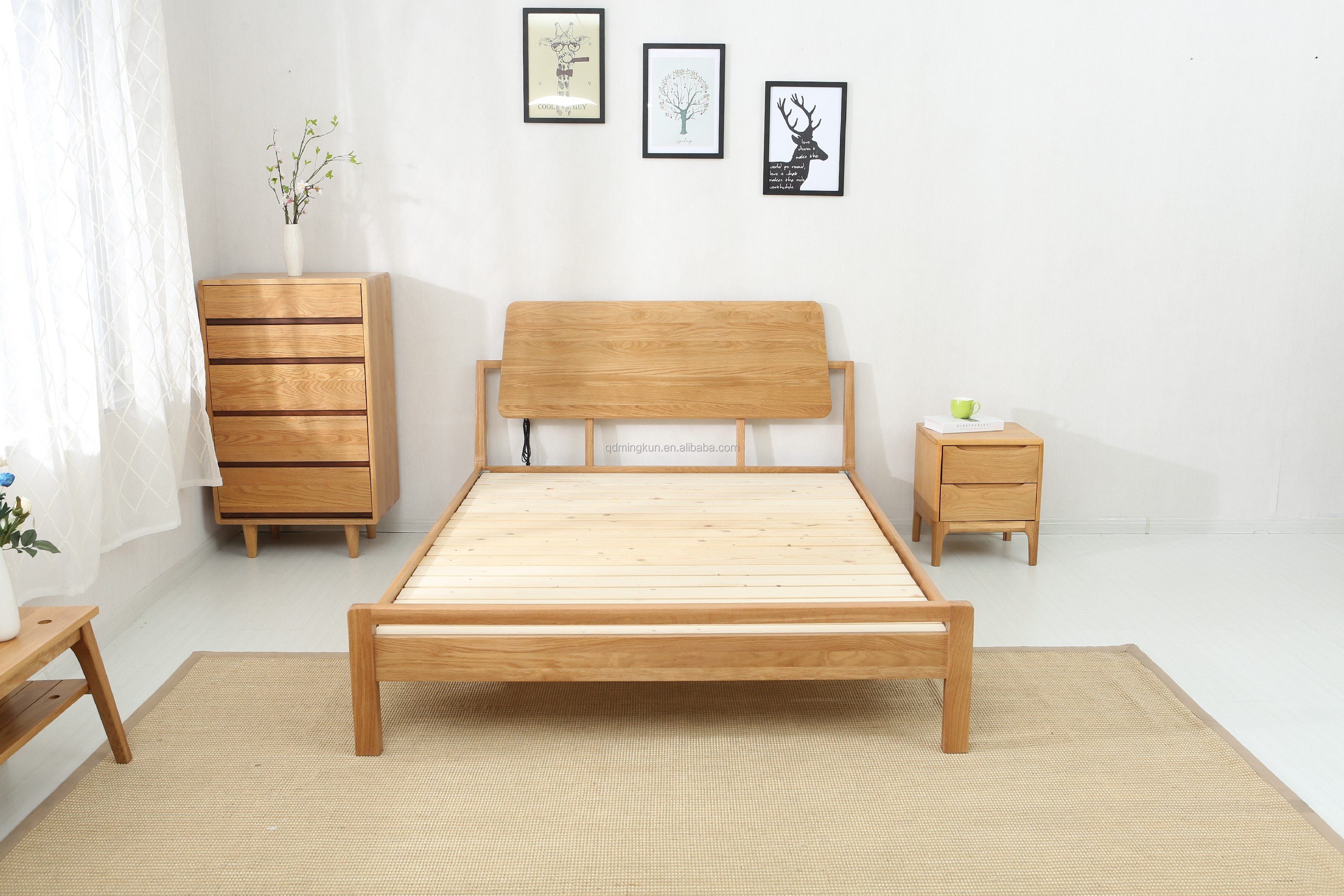 Children Modern Bed Frame Bedroom plywood bed children