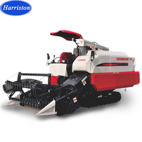 AW85G 4LZ-3.0A full feeding rice harvester with good price