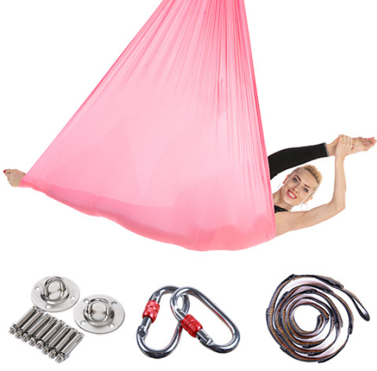 Yoga Swing Fitness Equipment Anti-Gravity Aerial Yoga Hammock Kit Yoga Inversion Hammock