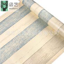 10 м ретро деревянные обои самоклеящиеся промышленный стиль мебели наклейка для ремонта спальни фон стены papel де parede(Китай)