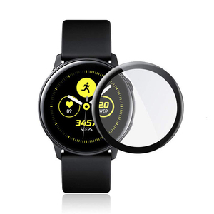 3D Full Coverage Flexible Smartwatch Tempered Glass Screen Protector for Galaxy Watch Active 2