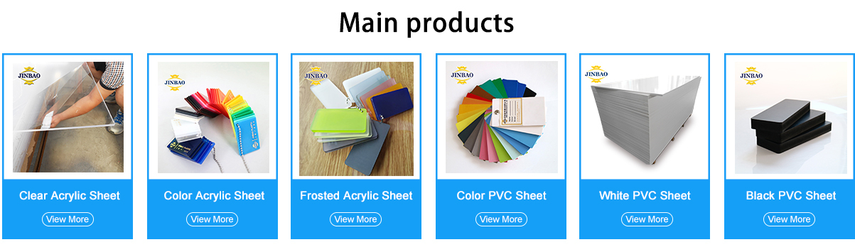 Shanghai Jinbao Plastic Co Ltd Acrylic Sheet Plexiglass Sheet