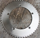 titanium bicycle crankset custom titanium bicycle chainirngs wholesale Gr,5 bike chainrings