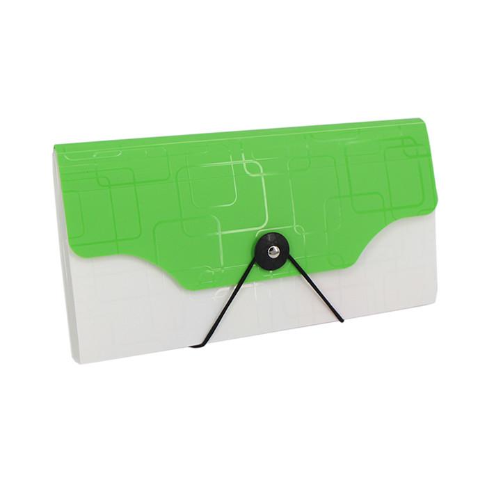 miny expanding file folder polypropylene plastic 13 pocket bill folder for office supply cheque size card expanding wallet bag