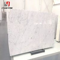 Lower Cost Big Slab Carrara White Marble Price For Project