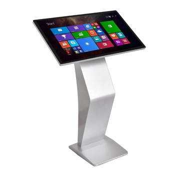 SYET 19 inch information service kiosk coffee ads modern advertising bank ads display holder free stand for advertising display