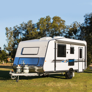 Small Holidays Touring Caravan Motorhome with Awning Tent