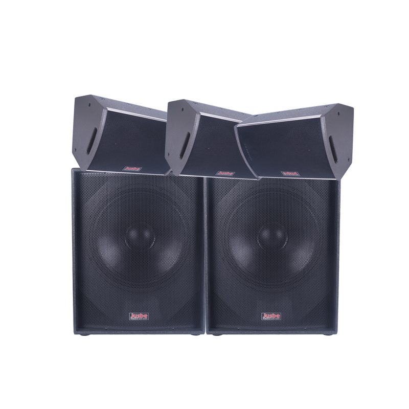 Jusbe TZ12 Professional audio 12 inch coaxial full frequency studio monitor speakers for stage activities