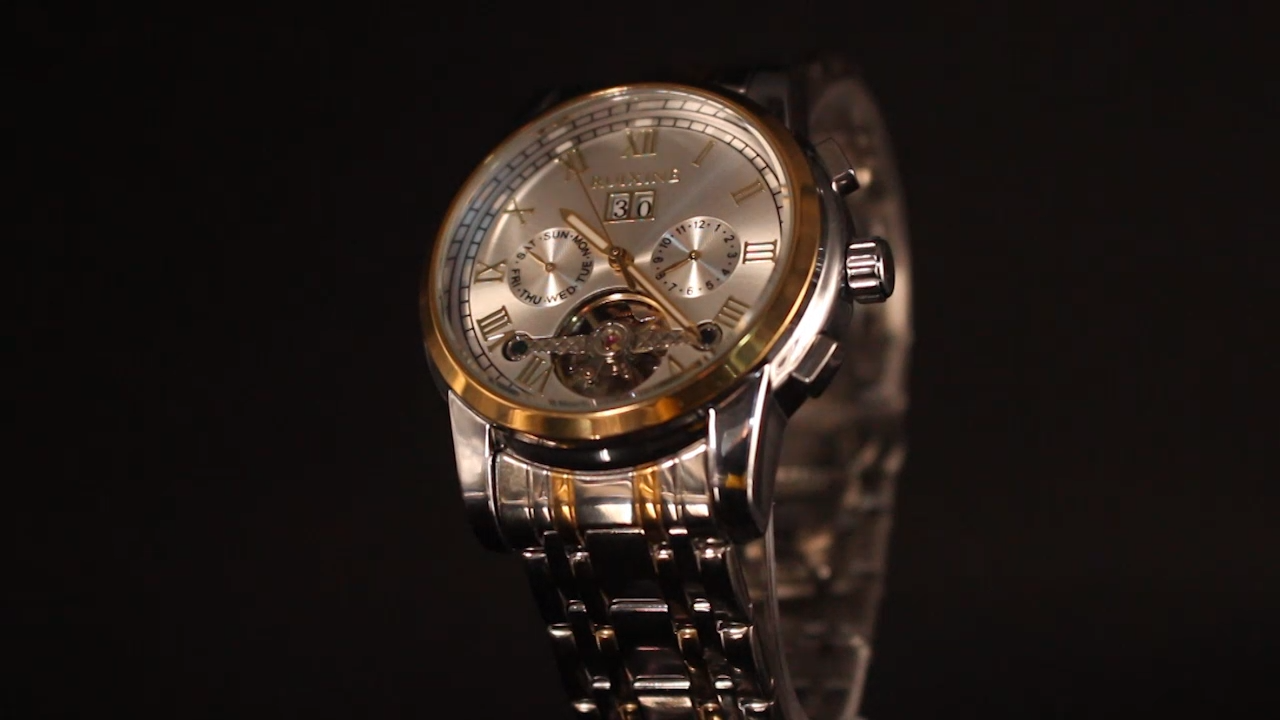 High Quality Watch Men Automatic Luxury Brand Men's Oem Top Gold Mechanical Watch Man Wrist