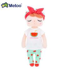 13 дюймов кукла Metoo Мягкие игрушки Плюшевые животные детские игрушки для девочек Дети Мальчики Детские Плюшевые игрушки мультфильм Анжела к...(Китай)