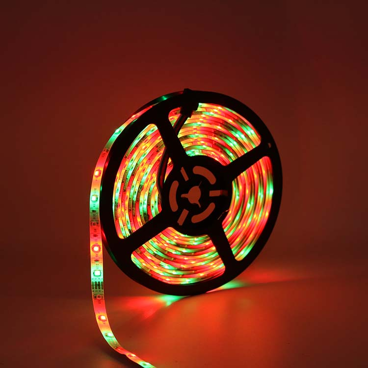 cheap 5/10/15m 60leds/m dreamcolor smart dynamic programable flexible rgbic rgb waterproof led strip light