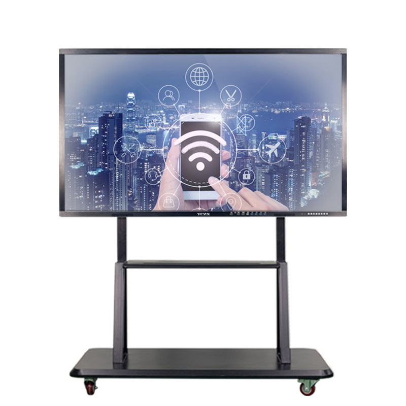 55 pollici touch screen del pannello LCD A LED Display del Monitor Interattivo a Schermo Piatto Touch Screen Smart TV bordo