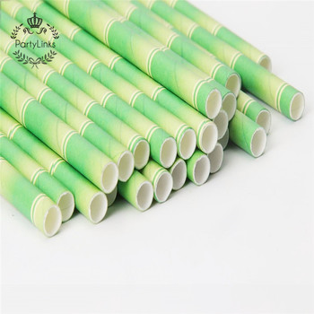 Disposable Tableware Drinking Compostable Straws Biodegradable Paper Straws Grass Drinking Straws For Party Drinks Decoration