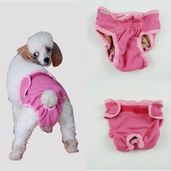 Cover Ups Sanitary Female Dog Pants Promotional Washable Dog Diapers For Dogs
