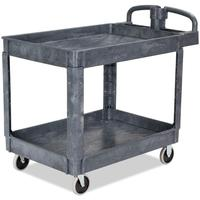 multifunction Industrial heavy duty hand trolley rolling storage tool cart service plastic utility cart