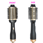 2019 Updated Version One-Step Hair Brush Dryer and Volumizer Hot Hair Dryer Brush with Straightening and Curling Iron