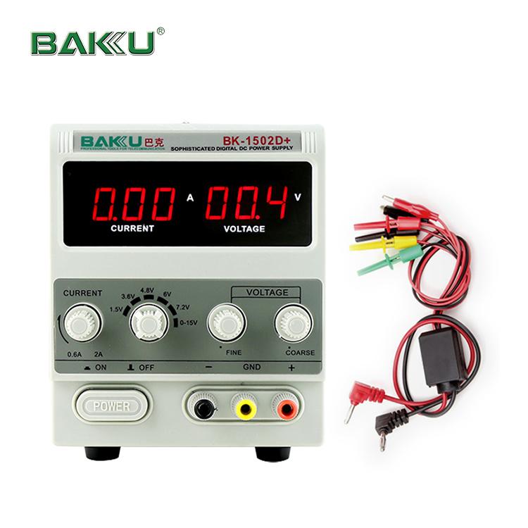 Yüksek kaliteli popüler best seller bakü BK-1502D + anahtarlama 15V DC güç kaynağı