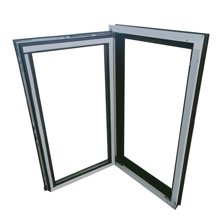 American style Bathroom AS2047 AS1288 AS2208 Standard Aluminium Frame double glaze tilt and turn windows