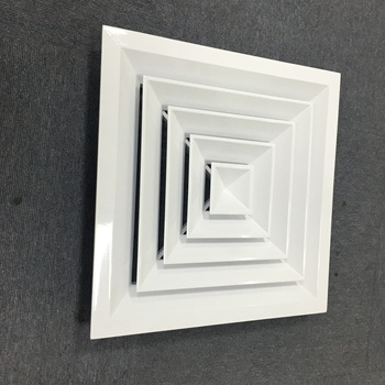 Commercial Ceiling Diffuser Adjustable Air Vent Covers Square Diffuser