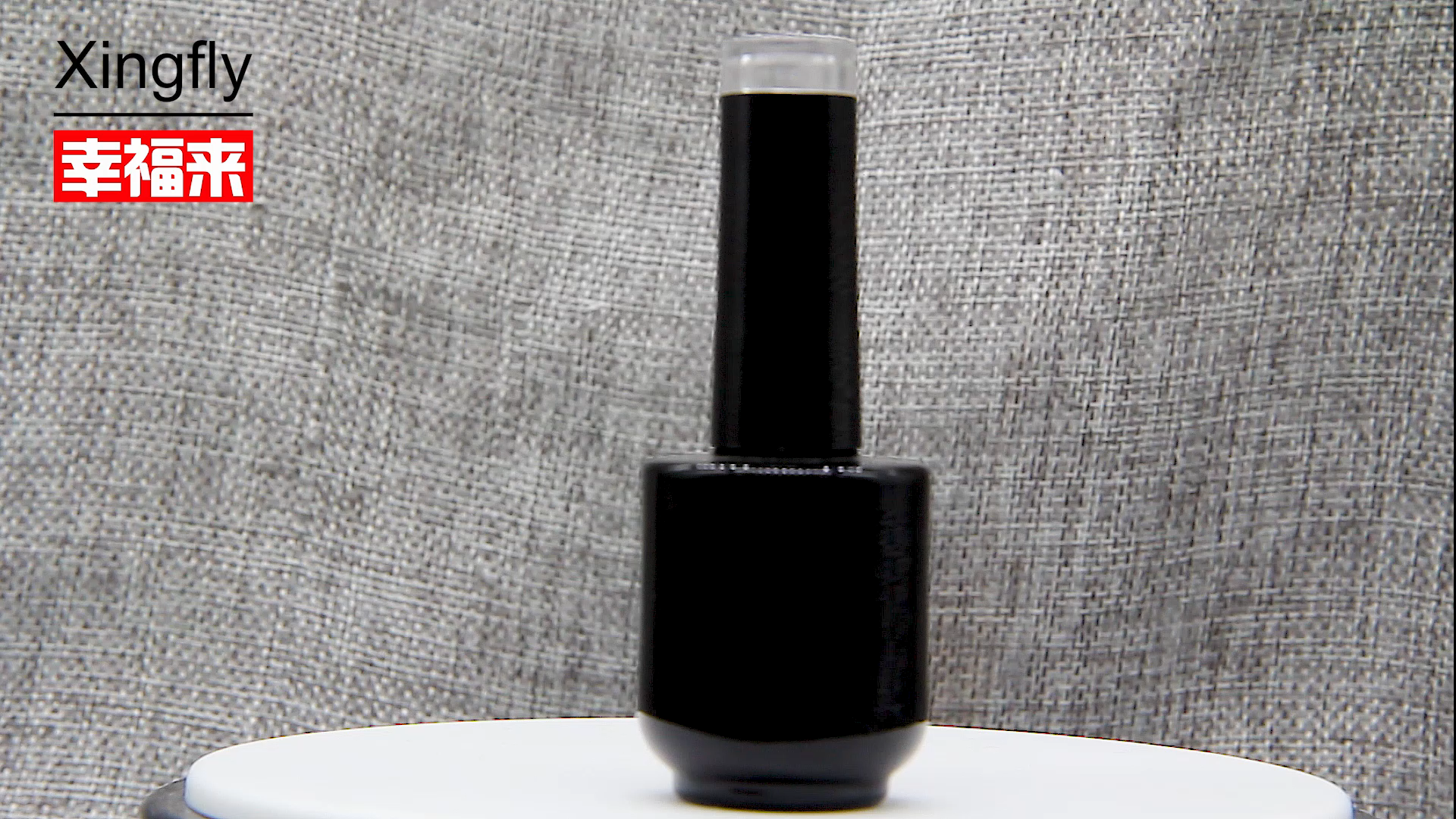 free sample hot stamping 12ML  Square Glass Nail Gel Polish Bottle empty nail polish bottle