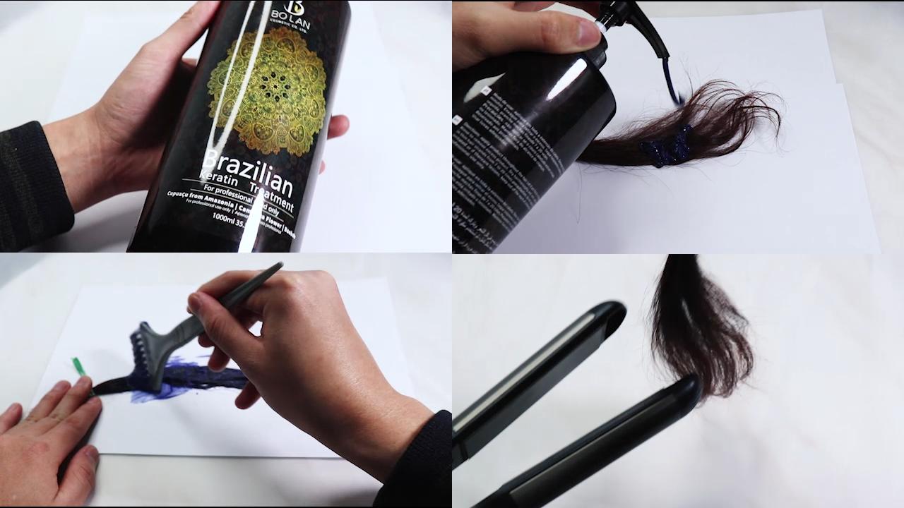 Pas cher Prix Usine Nouveau Traitement De Lissage Des Cheveux Brésiliens Kératine Aux États-unis Suppléments